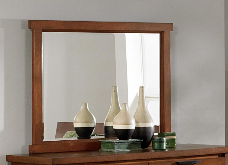 Kobe Mirror - Dark Oak