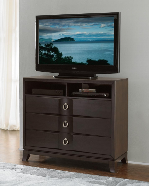 Edmonston TV Chest - Espresso