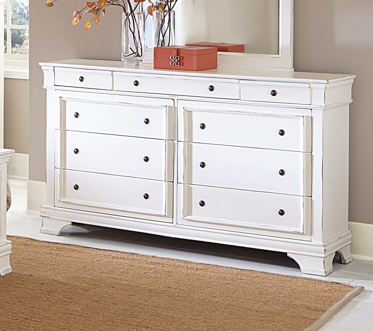 Derby Run Dresser - White Sand-Through