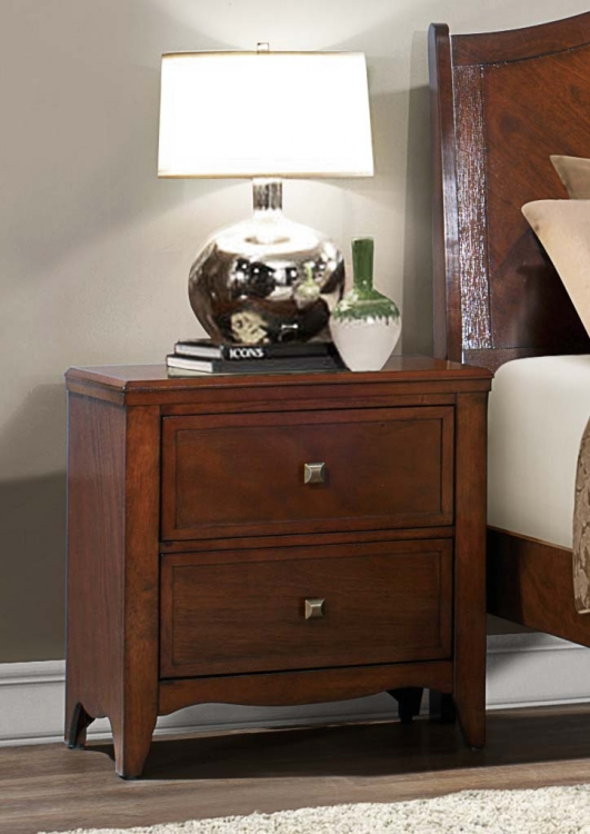 Verity Night stand - Cherry
