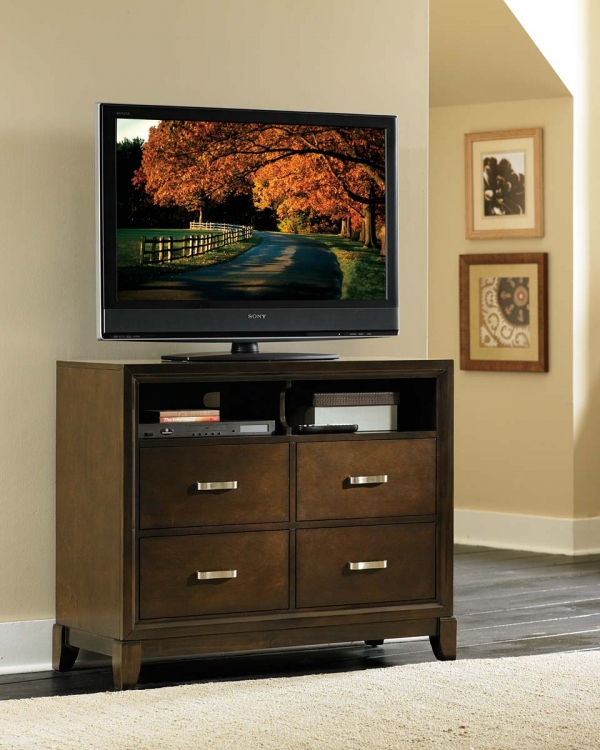 Darien TV Chest - Espresso