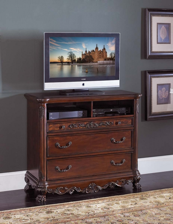 Deryn Park TV Chest - Cherry