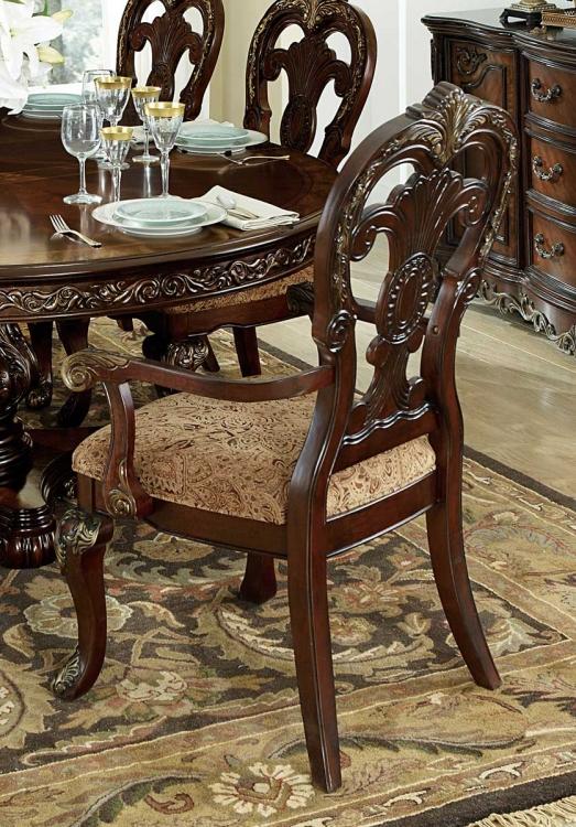 Deryn Park Arm Chair - Cherry