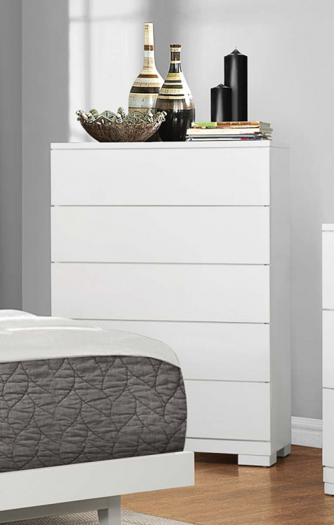 Galva Chest - Bright White
