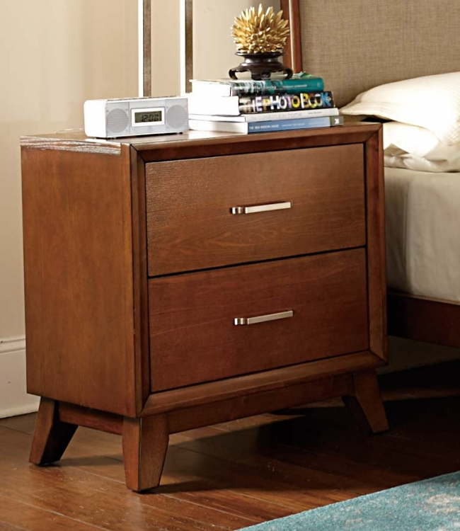 Soren Night Stand - Light Cherry
