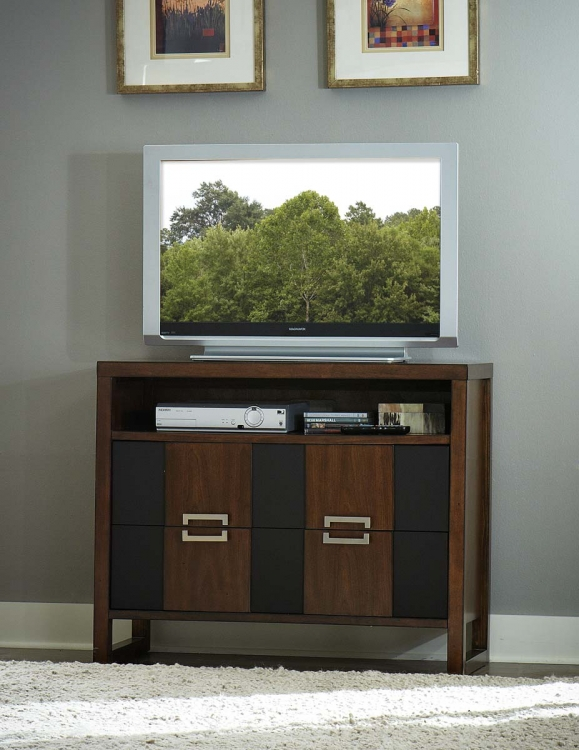 Zeigler TV Chest - Brown Cherry