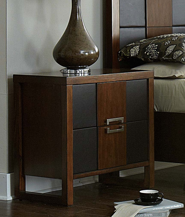 Zeigler Night stand - Brown Cherry