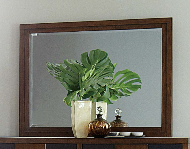 Zeigler Mirror - Brown Cherry