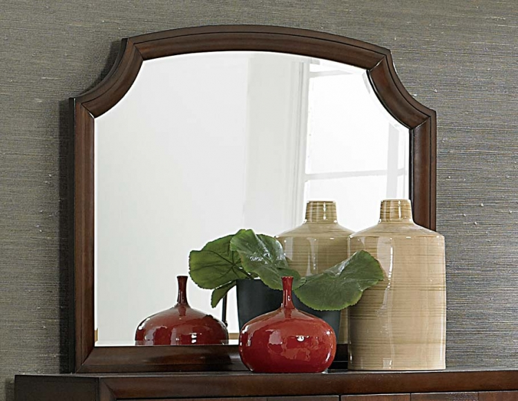 Carrie Ann Mirror - Parquet Cherry
