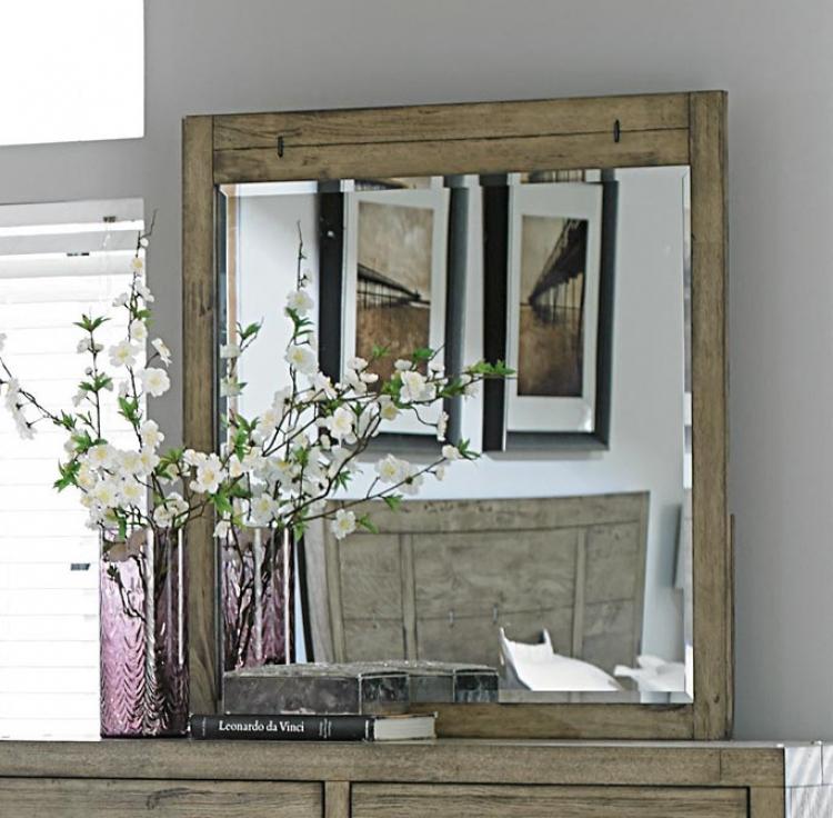 Abbott Mirror - Driftwood