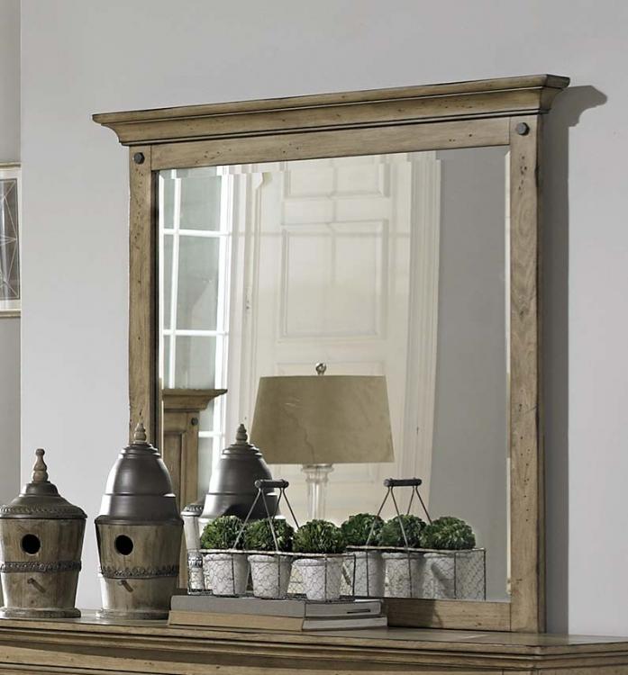 Sylvania Mirror - Driftwood Oak