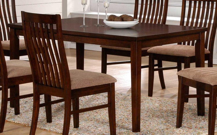 Hale Dining Table 60in - Walnut - Homelegance
