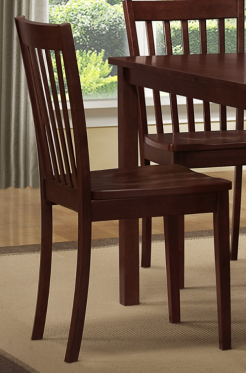 Sloan Side Chair - Slat Back - Homelegance
