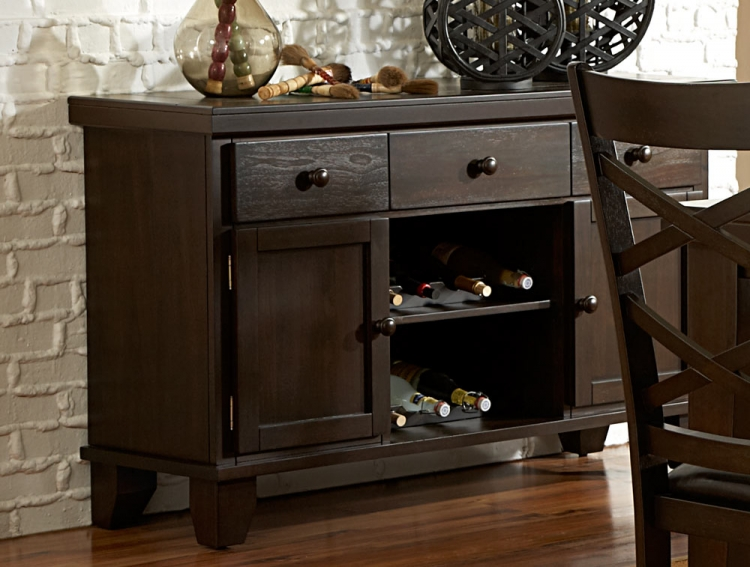 Hawn Server - Walnut Veneer