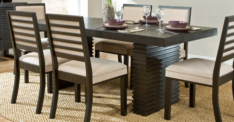 Miles Dining Table - Dark Espresso - Homelegance