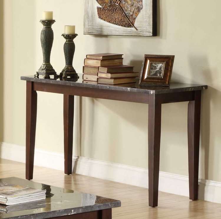 Decatur Sofa table - Espresso - Homelegance