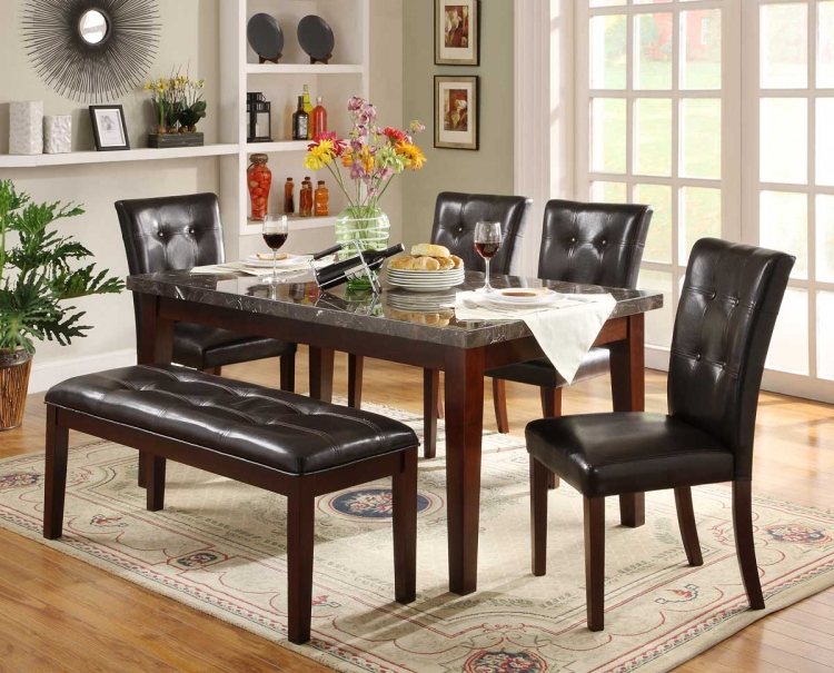 Decatur Dining Set- Espresso - Homelegance