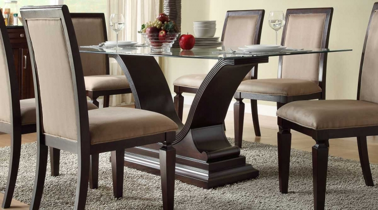 Plano Dining Table - Dark Espresso