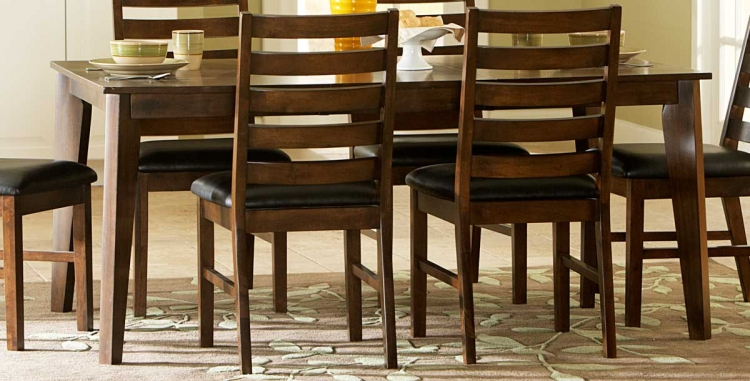 Wilder Dining Table - Medium Brown - Homelegance