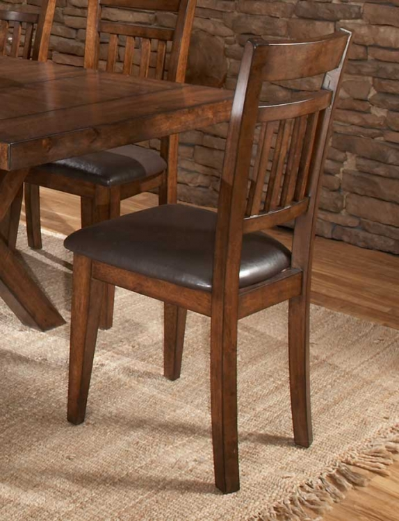 Vasquez Side Chair - Warm Oak