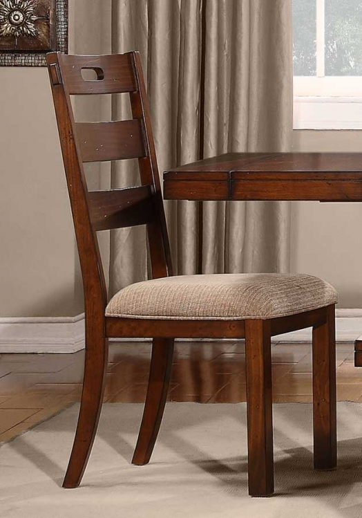 Clayton Side Chair - Dark Oak - Homelegance