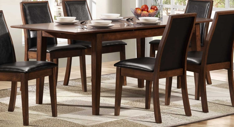 Cormac Dining Table - Dark Oak - Homelegance