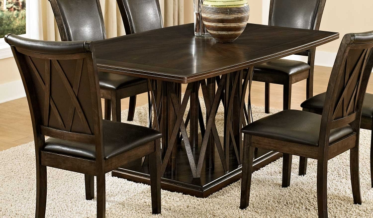 Garvey Dining Table - Ebony  - Walnut Veneer