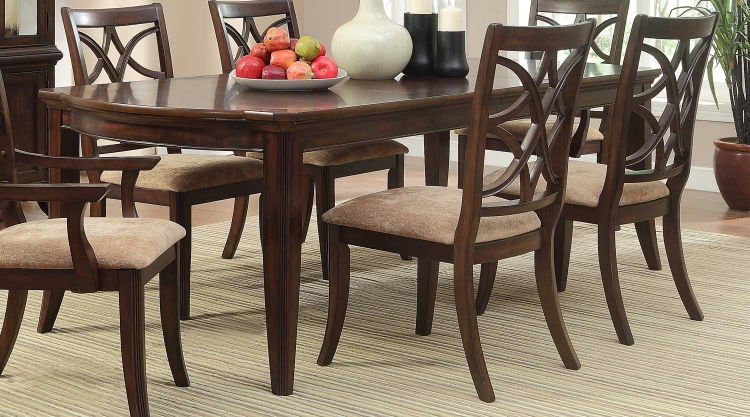 Keegan Dining Table - Cherry�
