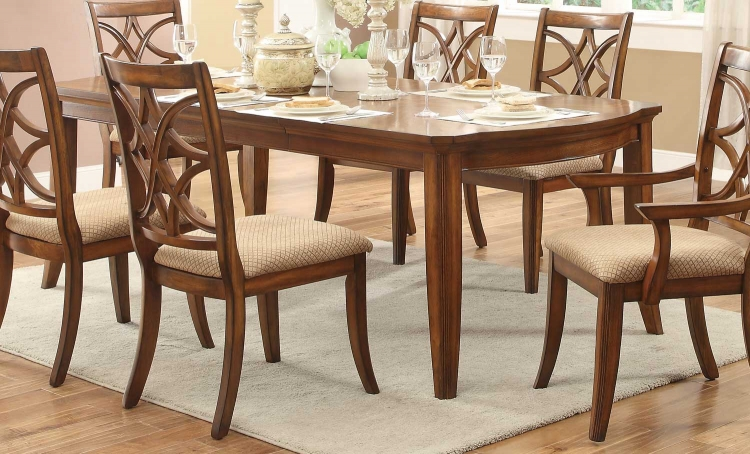 Keegan II Leg Dining Table r - Oak
