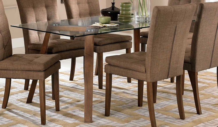 Maitland Dining Table - Walnut - Walnut