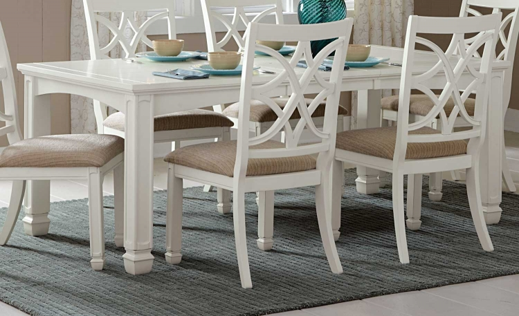Kentucky Park Dining Table - White