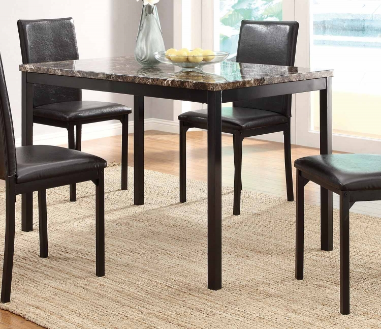 Tempe Counter Height Table - Black Metal