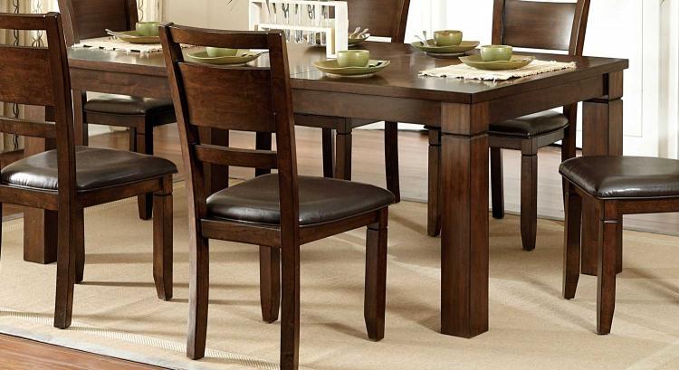 Finnian Dining Table - Warm Walnut