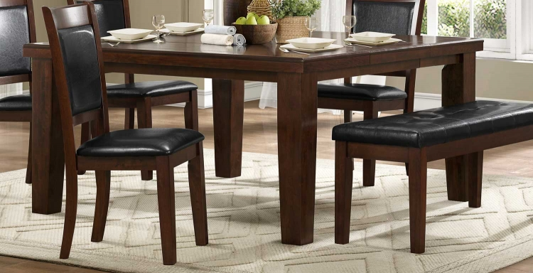 Weldon Dining Table - Espresso Dark Cherry