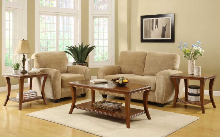 Petrillo 3-Piece Occasional Table Set - Homelegance
