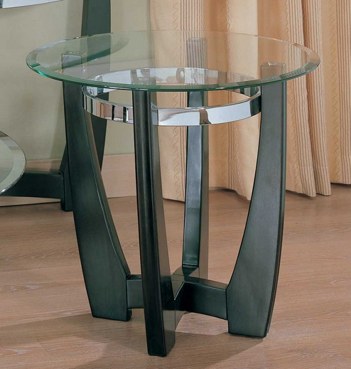 Raven Round End Table