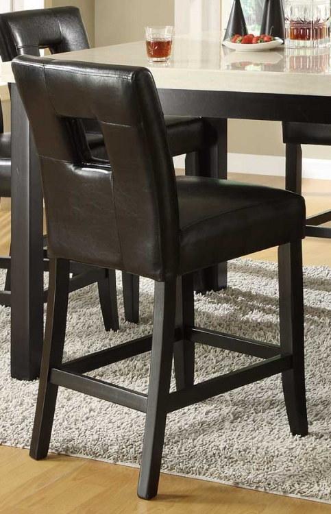 Archstone S1 Counter Height Chair - Black