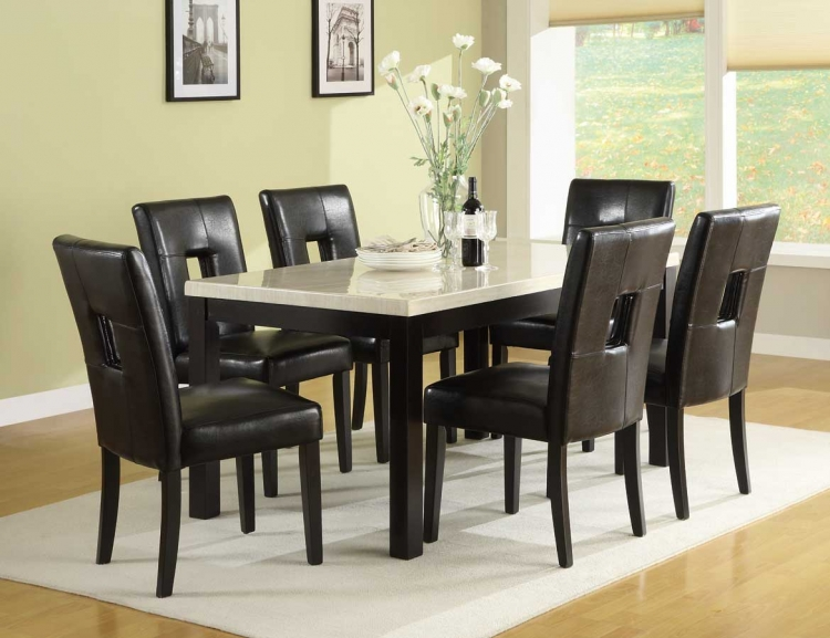 Archstone 60in Dining Set - Homelegance