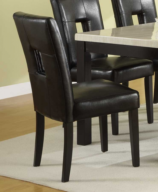 Archstone S1 Chair - Dark Brown - Homelegance