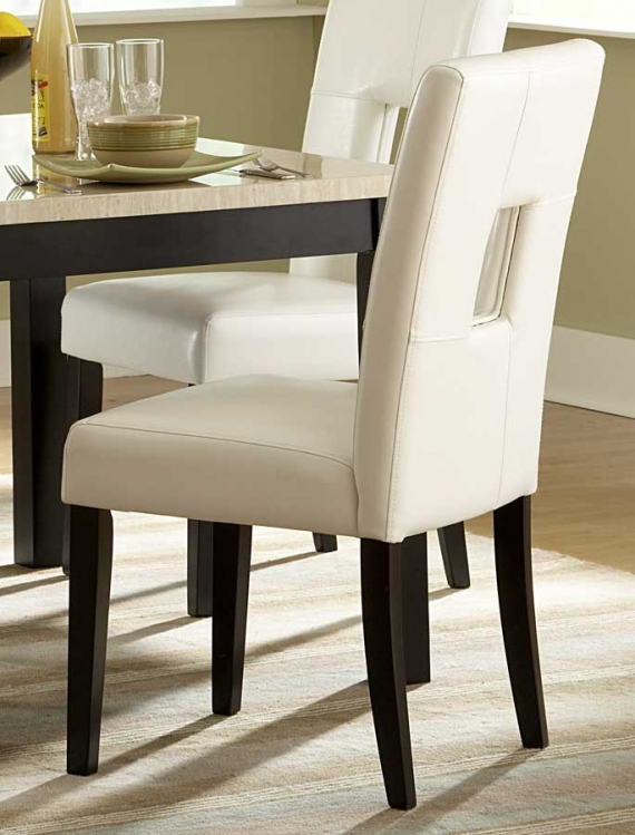 Archstone S1 Chair - White - Homelegance