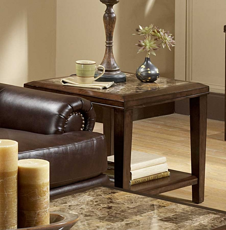 Belvedere End Table - Homelegance