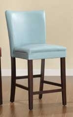 Belvedere Counter Height Dining Chair - Sky Blue - Homelegance
