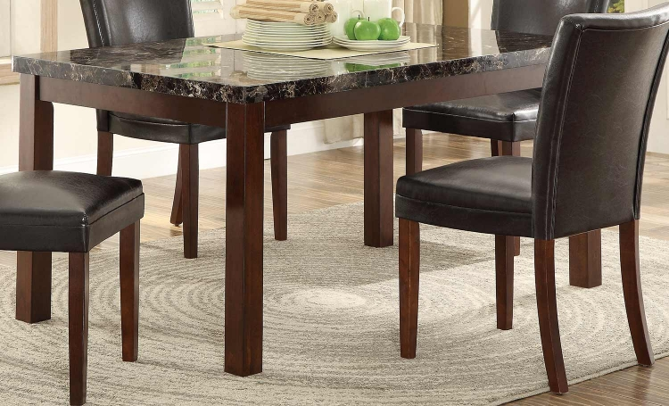 Belvedere II Dining Table - Espresso