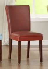 Belvedere Side Chair - Lava Red