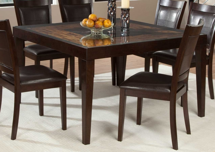 Vincent Square Dining Table - Mango and Acacia Wood