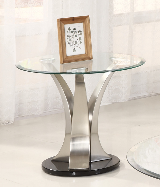 Charlaine End Table - Homelegance