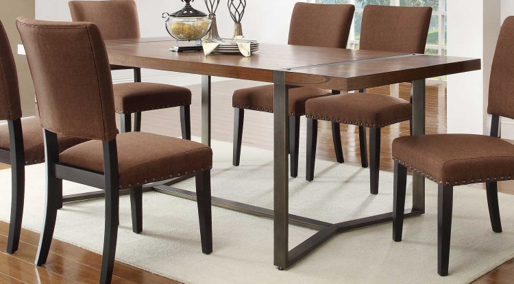 Northwood� Dining Table - Natural Brown - Homelegance