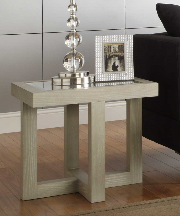 Guerrero End Table - Grey� - Homelegance