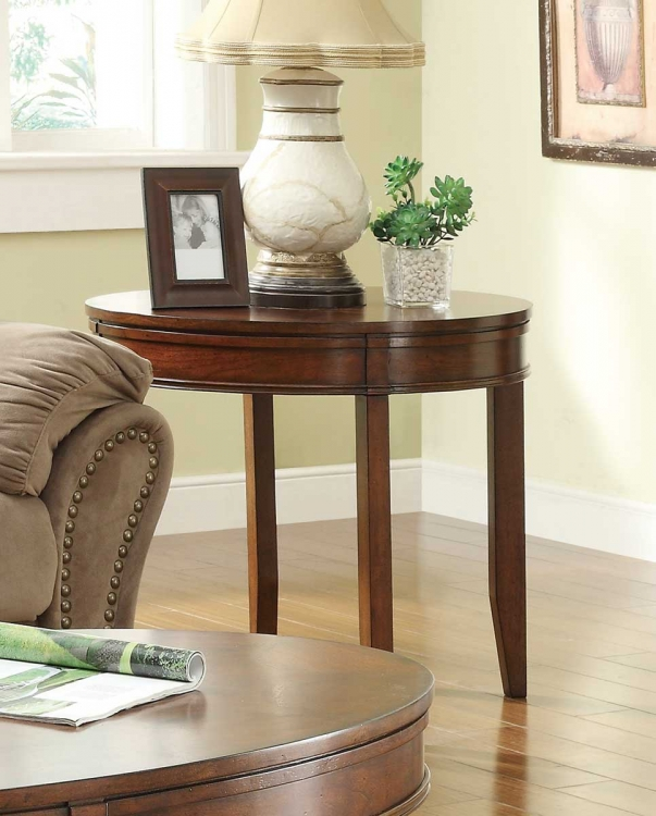 Parrish End Table - Cherry�