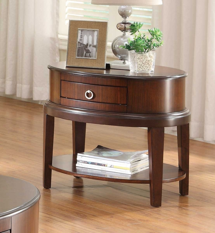 Ocala End Table - Cherry� - Homelegance